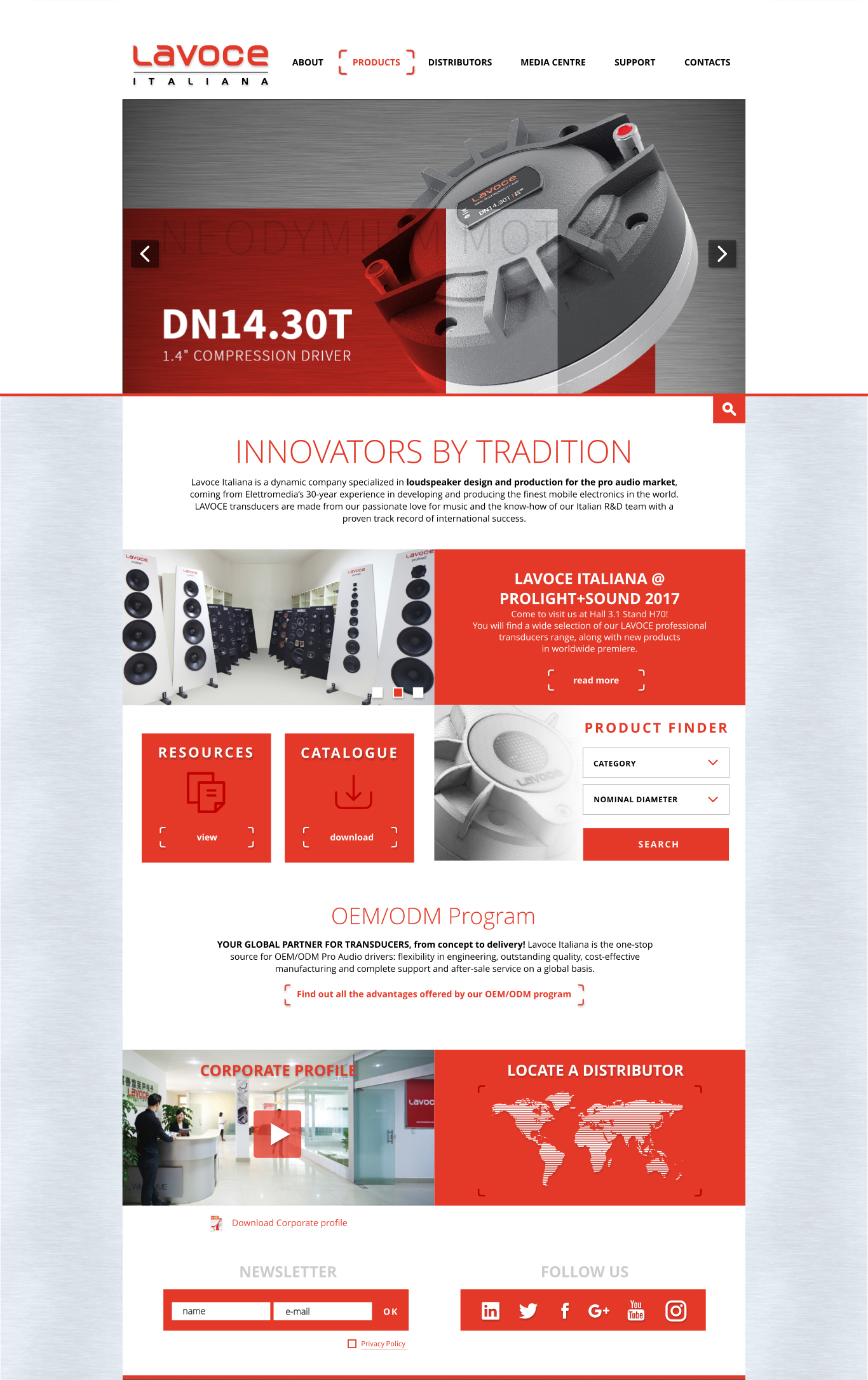 LaVoce 2017 homepage b