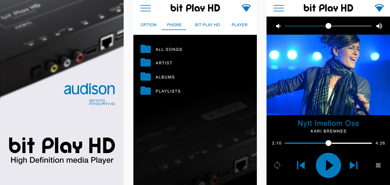 audison bit play hd app