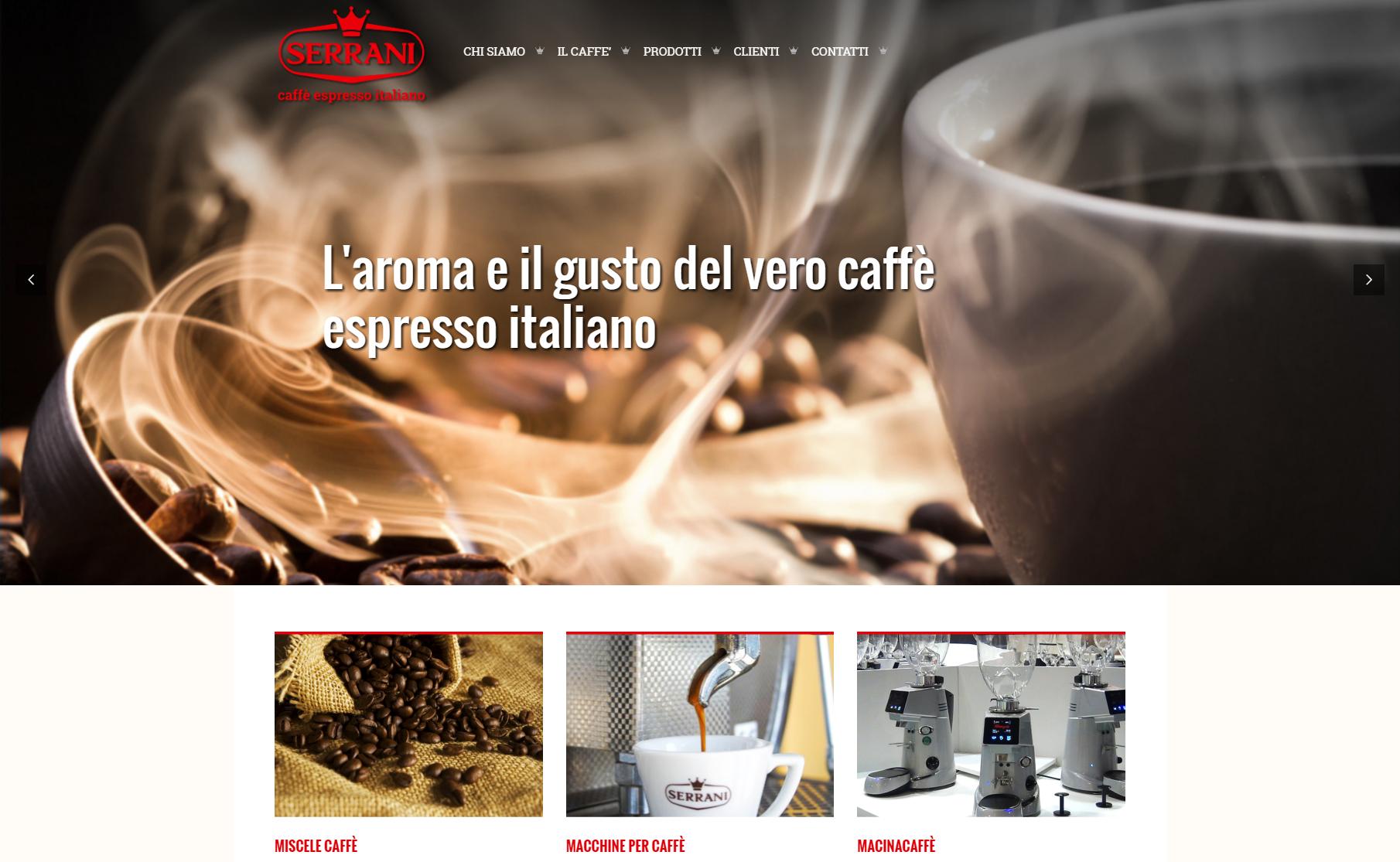 caffè serrani spagna